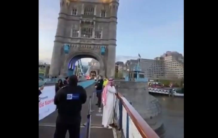 Ramadan : l'appel à la prière musulmane se fait désormais sur le Tower Bridge en plein coeur de Londres, «Allah Akbar» (Vidéo)