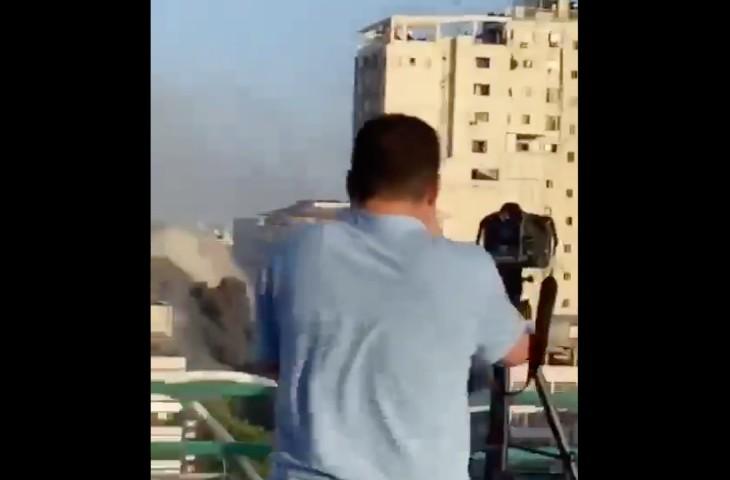 Israël prévient toujours la population civile avant de bombarder Gaza. Aucune armée au monde ne fait ça. Preuve en vidéo