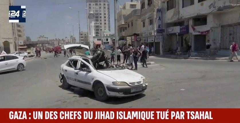Tsahal élimine un des chefs du Jihad islamique dans une frappe chirurgicale à Gaza (Vidéo)