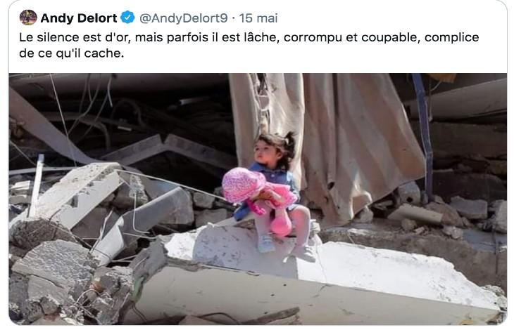 Réinformation Gaza : NON ! Cette petite fille n'est pas à Gaza mais à Alep en Syrie, le 25 juin 2014, image de Khaled Khatib/AFP