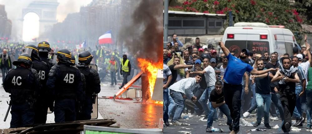 Diplomatie: Alors que Macron a fait plus de blessés Gilets jaunes en France, le Quai d'Orsay «rappelle les autorités israéliennes à leur devoir de protection des civils et leur demande d'agir avec la plus grande retenue»