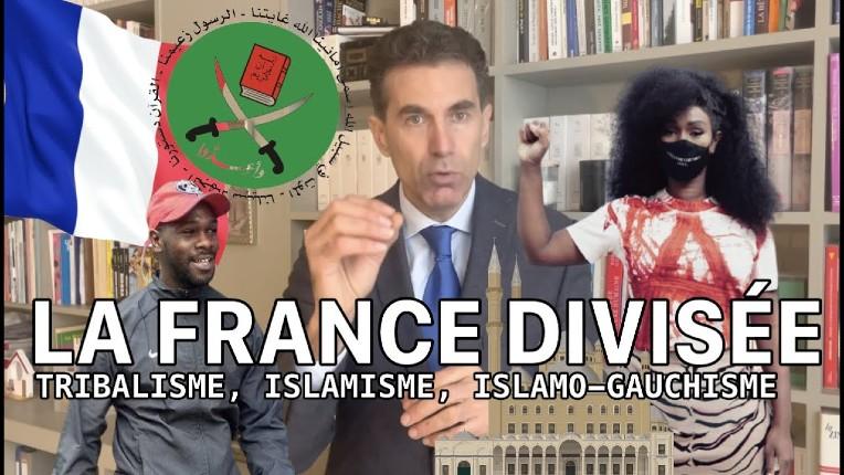 Alexandre Del Valle – La montée de la haine en France, pays le plus fracturé d'Europe: tribalisme, islamisme, islamo-gauchisme (Vidéo)