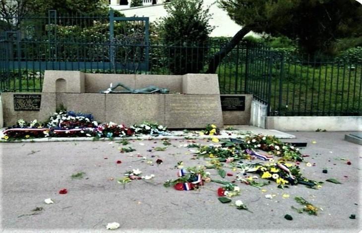 Un mémorial de la déportation vandalisé à Marseille, la mairie veut porter plainte