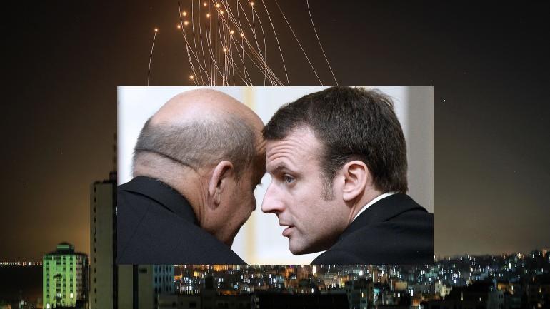 Imaginez 2000 roquettes tirées en 48 h par des islamistes sur Paris, Lyon, Bordeaux, Marseille… la France aurait-elle droit de se défendre et riposter ? Pour la diplomatie macronienne la réponse est non «il faut être dans la retenue»