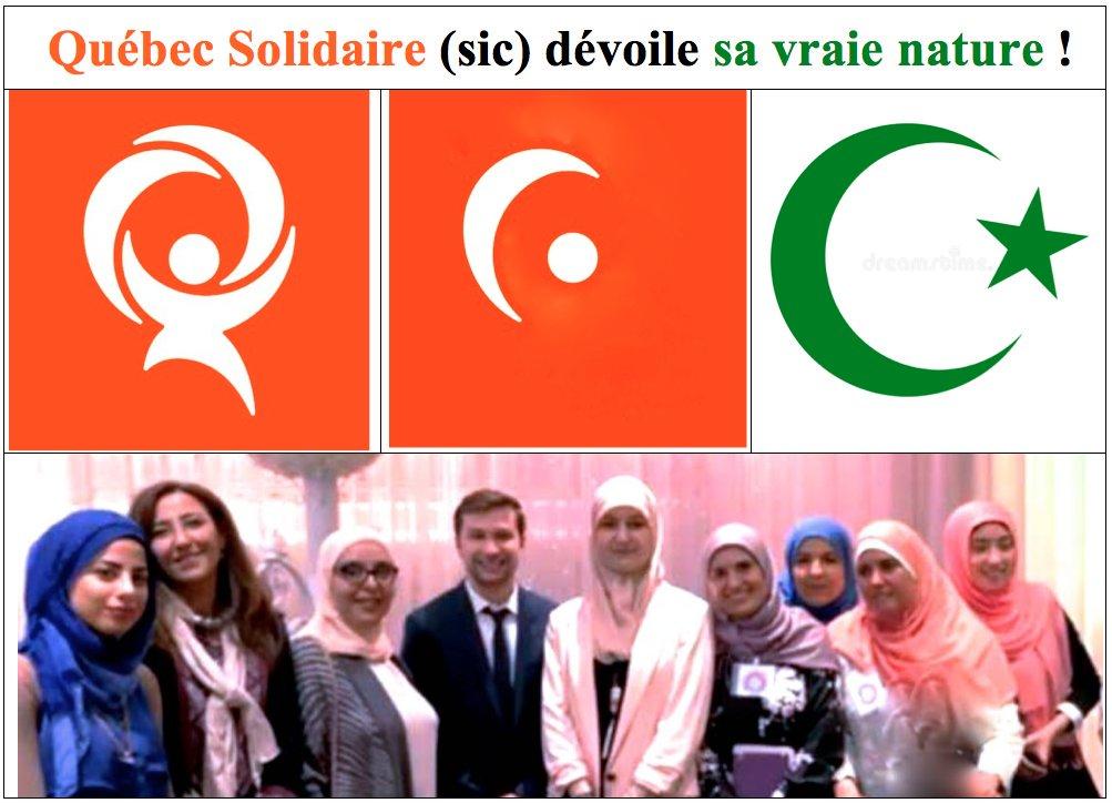 Québec Solidaire, un parti de gauche pro-arabe, dit non à l'adoption d'une motion contre l'antisémitisme