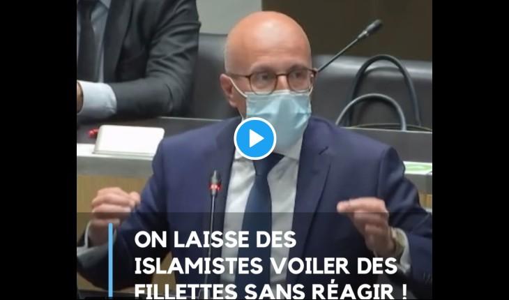 Eric Ciotti «Le gouvernement de Macron refuse d'interdire le voile islamique pour les enfants. Comment prétendre lutter contre l'islamisme ?» (Vidéo)