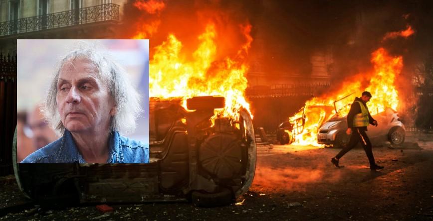 """Michel Houellebecq """"Il ne s'agit pas vraiment d'un 'suicide français' mais d'un suicide occidental. Ce qui est authentiquement français, c'est la conscience de ce suicide """""""