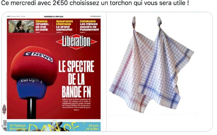Une de Libé: Pascal Praud tacle le torchon islamo-gauchiste «Libé est à la presse française ce que le Titanic fût à la navigation» (Vidéo)