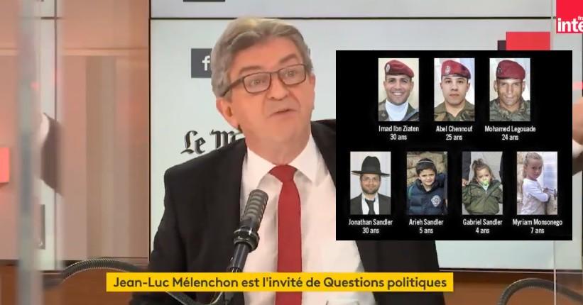 L'islamo-gauchiste Melenchon touche le fond: pour lui les meurtres antisemites d'Ozar Hathora de Merah étaient un complot visant à «montrer du doigt les musulmans » (Vidéo)