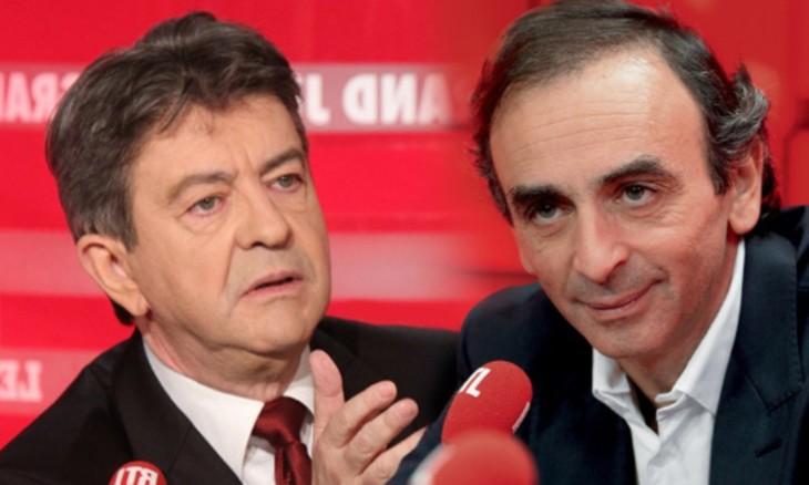 """Zemmour défie Mélenchon : """"Au lieu d'éructer tout seul, venez débattre sur CNews !"""""""
