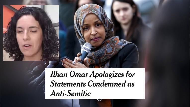 L'Insoumise Manon Aubry se félicite de participer à un séminaire avec l'élue antisémite Ilhan Omar