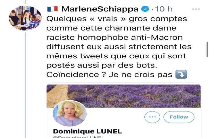 Après avoir affirmé créer une police internationale, Marlène Schiappa insulte une politologue qui conteste cette fake news. Accusée de déshonorer une femme qui la gêne, elle est menacée d'une plainte