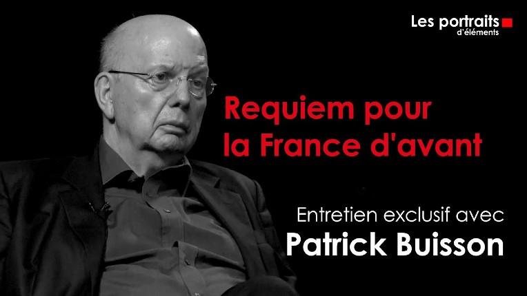 """Patrick Buisson : """"On ne peut pas à la fois dénoncer l'Islam et défendre l'immigration"""" (Vidéo)"""