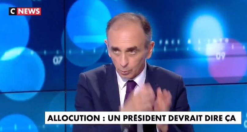 Zemmour «Si j'étais Macron, j'irais visiter la famille de ce pauvre enfant assassiné par un sénégalais multirécidiviste. Ce serait un hommage au peuple français qui souffre et qui paie une politique d'immigration complètement folle» (Vidéo)