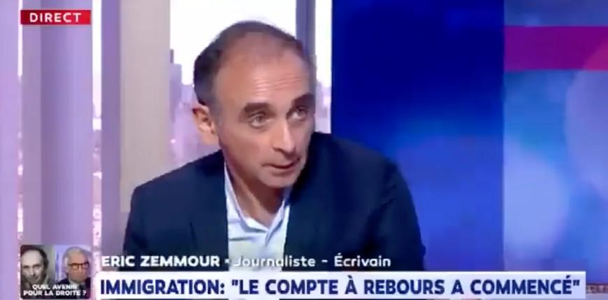 Zemmour : « Vous allez venir avec moi dans le métro, en banlieue, dans les villes du nord, dans les villes du sud, à Rennes, à Nantes, et vous allez comprendre si le Grand Remplacement n'est pas en marche, c'est tellement évident pour toute la France » (Vidéo)