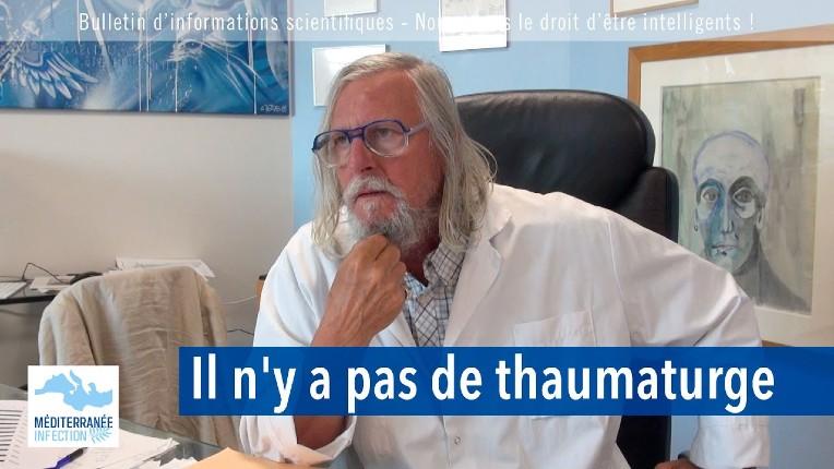Variant Delta: le Prof Raoult confirme qu'il est beaucoup moins dangereux. Le Prof Megarbane «la probabilité d'une saturation hospitalière est faible» (Vidéo)