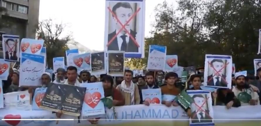 Afghanistan : en octobre 2020, d'énormes manifestations contre la France, contre Macron, appel au boycott des produits français… les talibans n'étaient pas encore là (Vidéo)