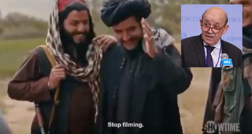 """Tandis que Le Drian espère """"que les talibans ont changé"""", les chefs talibans éclatent de rire quand on leur parle de démocratie et d'égalité des femmes lors d'une interview (Vidéo)"""