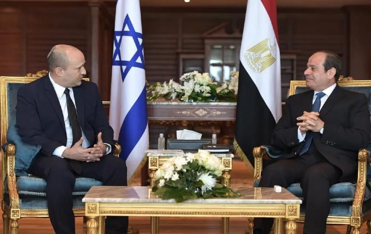 Israël/Egypte: Naftali Bennett»Nous avons jeté les bases d'une relation profonde pour l'avenir»