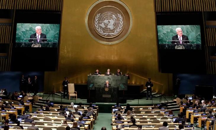 A l'ONU, Mahmoud Abbas, aux abois, menace «Nous donnons à Israël un an pour se retirer des Territoires palestiniens» (Vidéo)
