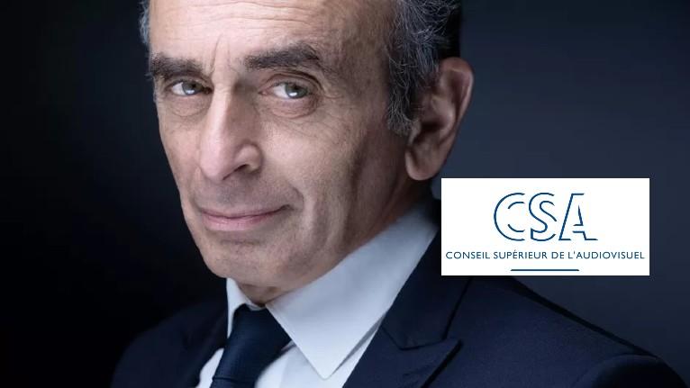 Le CSA, aux ordres de Macron, veut faire taire Eric Zemmour : «On essaie de me faire taire ! Le CSA n'a ni le droit, ni la légitimité de juger l'opinion des gens»