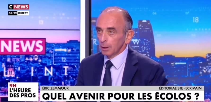 Zemmour «On dit que mon discours est radical, alors qu'il est absolument central et rassembleur. Toutes les convictions que je défends sont portées par plus de 70% des Français» (Vidéo)