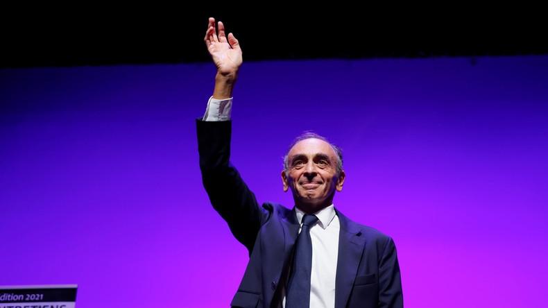 Selon l'institut créé par Le Point et Hypermind, Eric Zemmour serait le candidat de droite ayant le plus de chance d'être élu président de la république en 2022