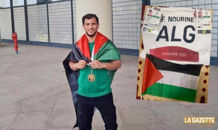 JO Tokyo 2020 : le judoka algérien Fethi Nourine qui avait déclaré forfait pour ne pas avoir à affronter un israélien est suspendu pendant 10 ans
