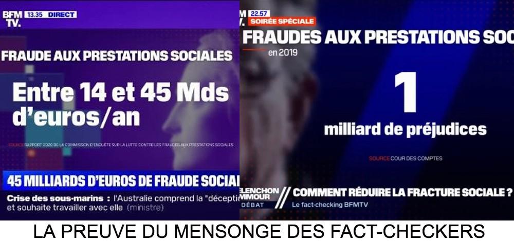 Les «fact-checkers» de BFM ont délibérément menti sur les chiffres de Zemmour: le magistrat Charles Prats confirme Zemmour, BFMTV donnait les mêmes chiffres que Zemmour une semaine avant (Vidéo)