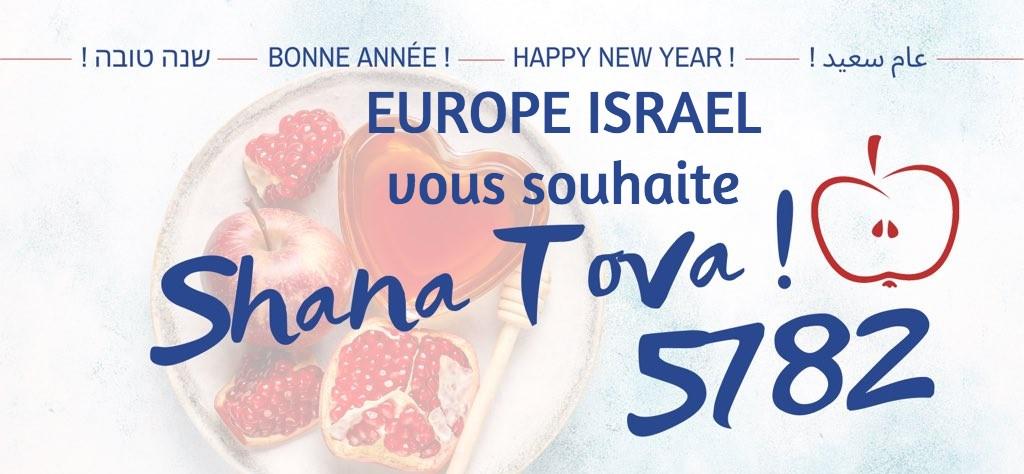 Toute l'équipe d'Europe Israël vous souhaite Shana Tova 5782