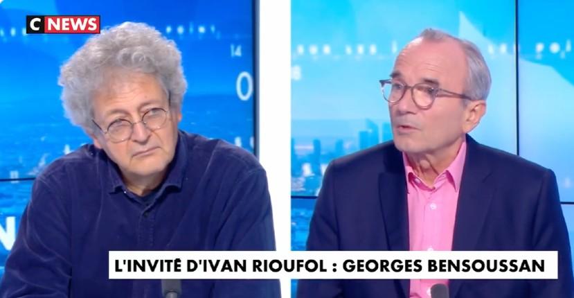 Georges Bensoussan : « Des territoires entiers ont été conquis par l'islamisme. Tout le monde le sait… La gauche culturelle ne vit pas les conséquences de l'immigration de peuplement » (Vidéo)