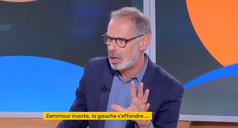 Gilles Bornstein présentateur sur France Info: « Zemmour n'a pas le droit de venir ici »… G-William Goldnadel lui répond « Une seule solution, la privatisation !  » du service public (Vidéo)