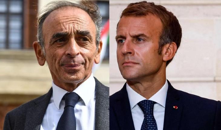 Éric Zemmour donné à 17% au 1er tour et à 45% au 2nd tour face à Macron. La droite dans tous ses états