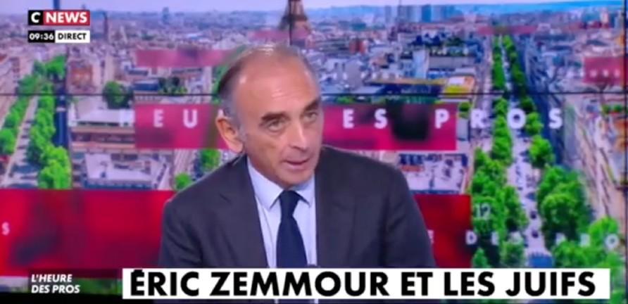Zemmmour répond à BHL » Les Français de confession juive savent très bien qu'on les tuent, non pas au nom de Hei Hitler mais au nom de Allahu akbar» (Vidéo)