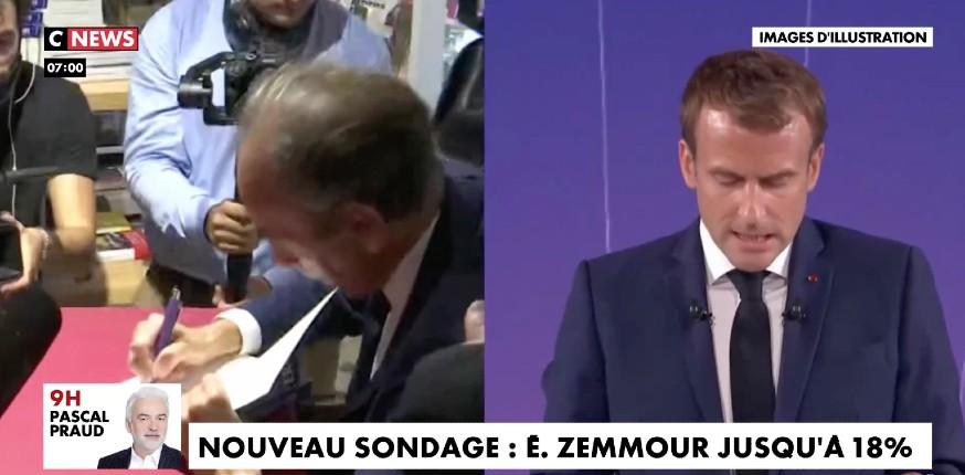 Nouveau sondage : Eric Zemmour serait au second tour dans tous les cas avec 18% des intentions de vote au 1er tour (Vidéo)