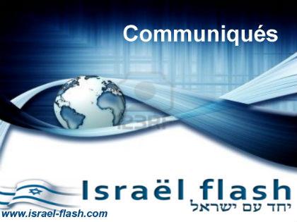 Attentats anti-israéliens : communiqué de B.Netanyahu