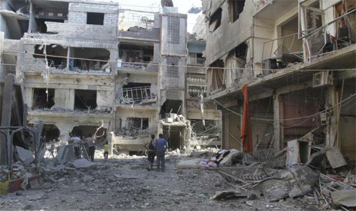 Syrie : plus de 3000 palestiniens massacrés, qu'est ce que ça peut bien faire !