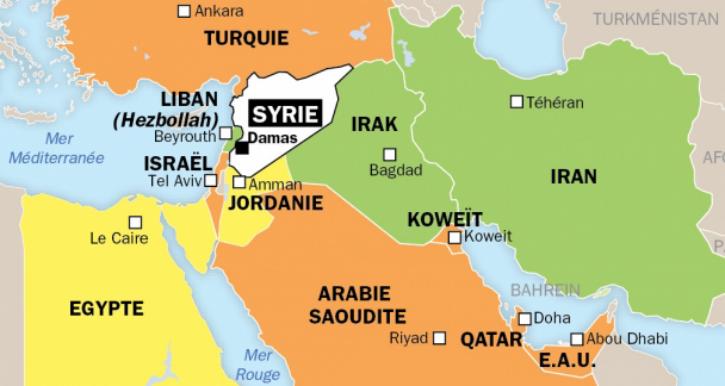 Moyen-Orient, qui bombarde qui ?