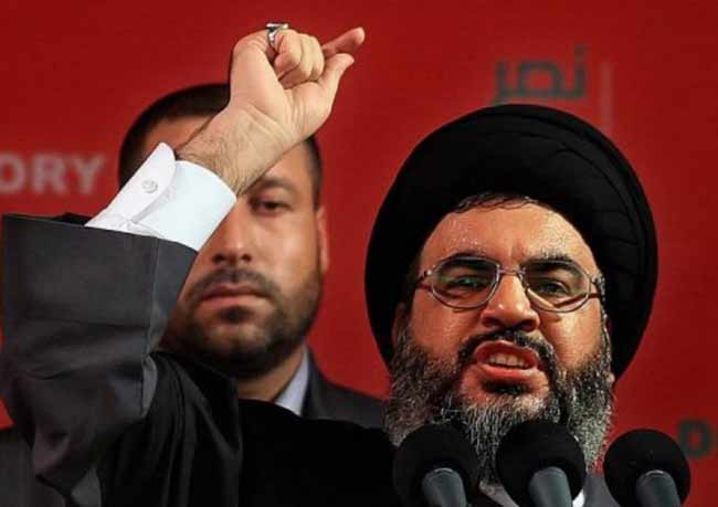 The head of Hezbollah has found someone he hates even more than Israelis