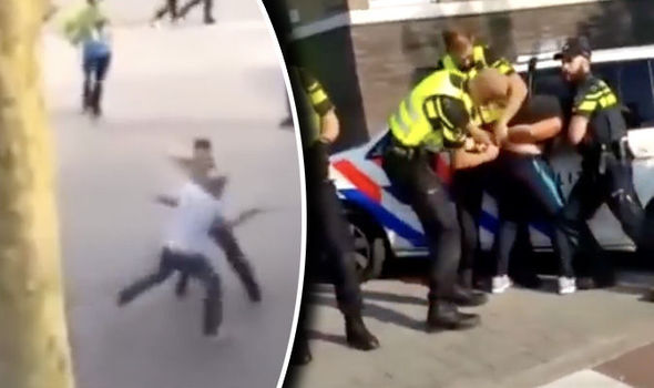 Turkish migrant gang ATTACKS locals during reign of terror across entire Dutch city