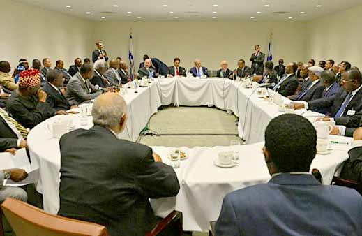 Netanyahu, 15 African leaders meet in NYC, discuss tech ties
