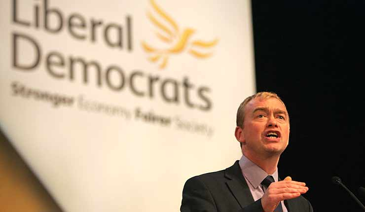 TIM FARRON SENDS A STRONG MESSAGE THAT THE LIB DEMS OFFER A SAFE SPACE TO ANTISEMITES