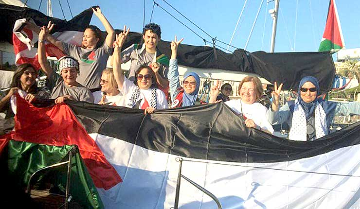 A Look Inside the Latest Gaza Women's Flotilla