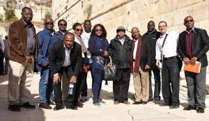 African Diplomats in Jerusalem