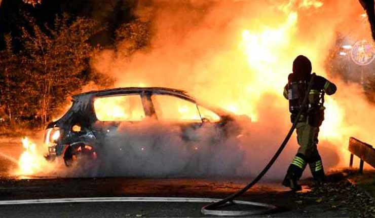 Copenhagen IN FLAMES: Denmark hit by arson attacks as rampaging thugs remain on the lose