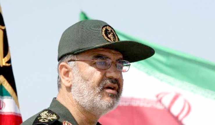 "Senior Iranian commander brags over ""expanding borders"""