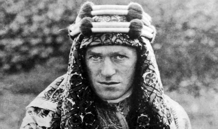 T.E.Lawrence wanted to see Jewish settlements – 'bright spots in a desert' – in the Holy Land