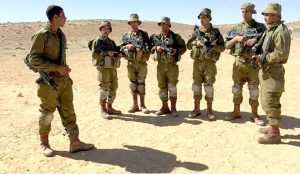 Arab soldiers in the Israeli Army