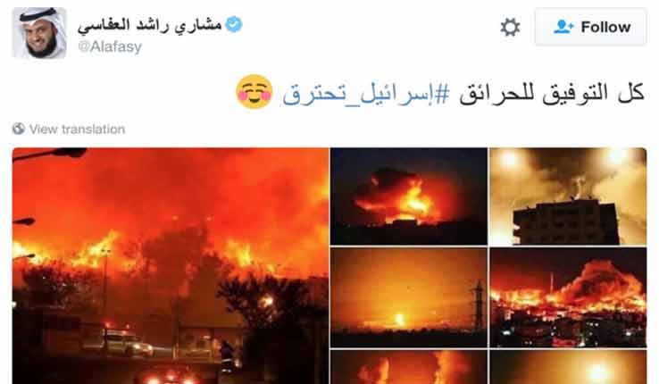 'Israel is burning': Palestinians, Arab world rejoice over fires