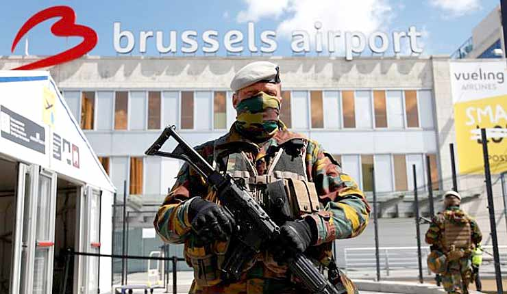 Belgium takes tips from Israel to step up Brussels airport security